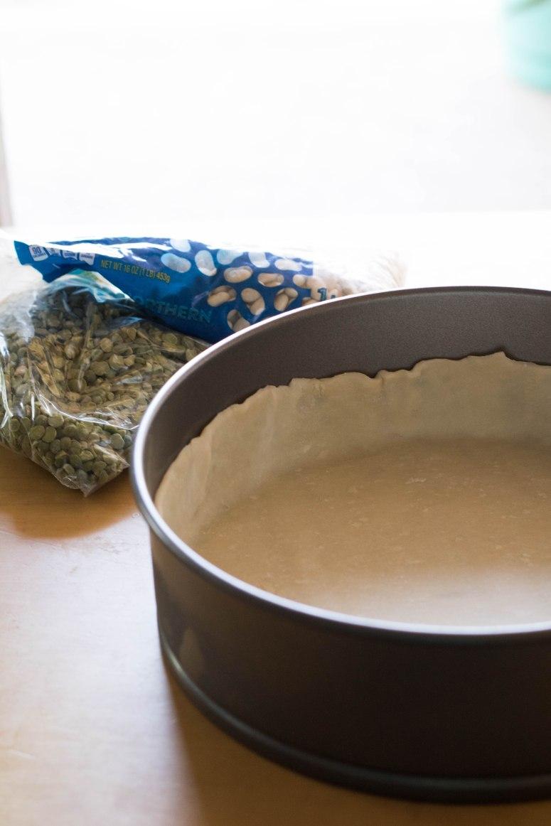blind baking a tart shell